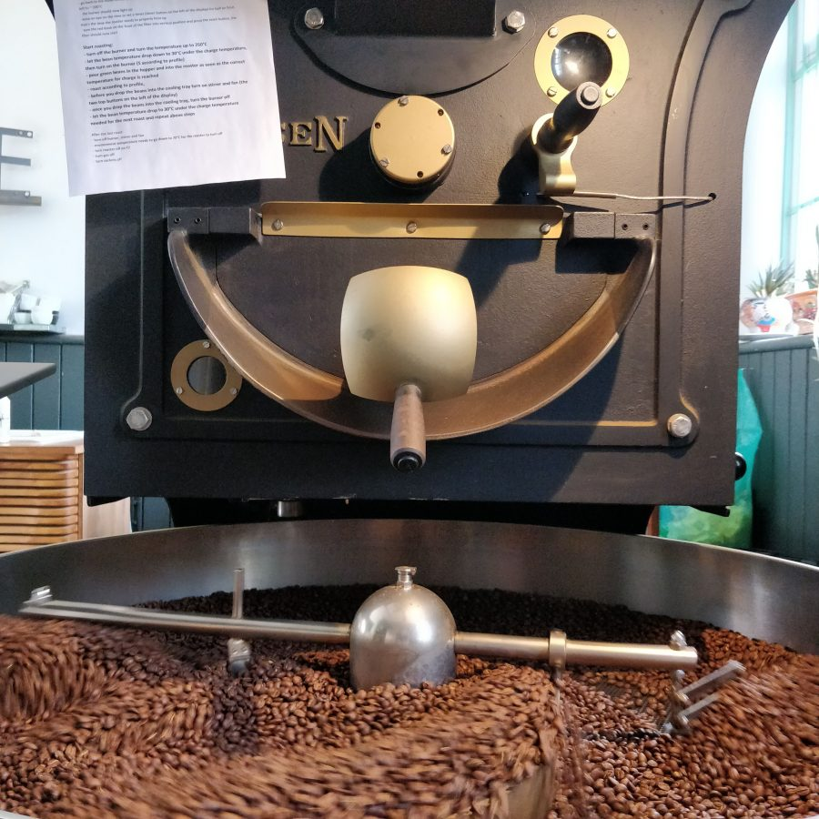 KOBO Coffee goes roasting!